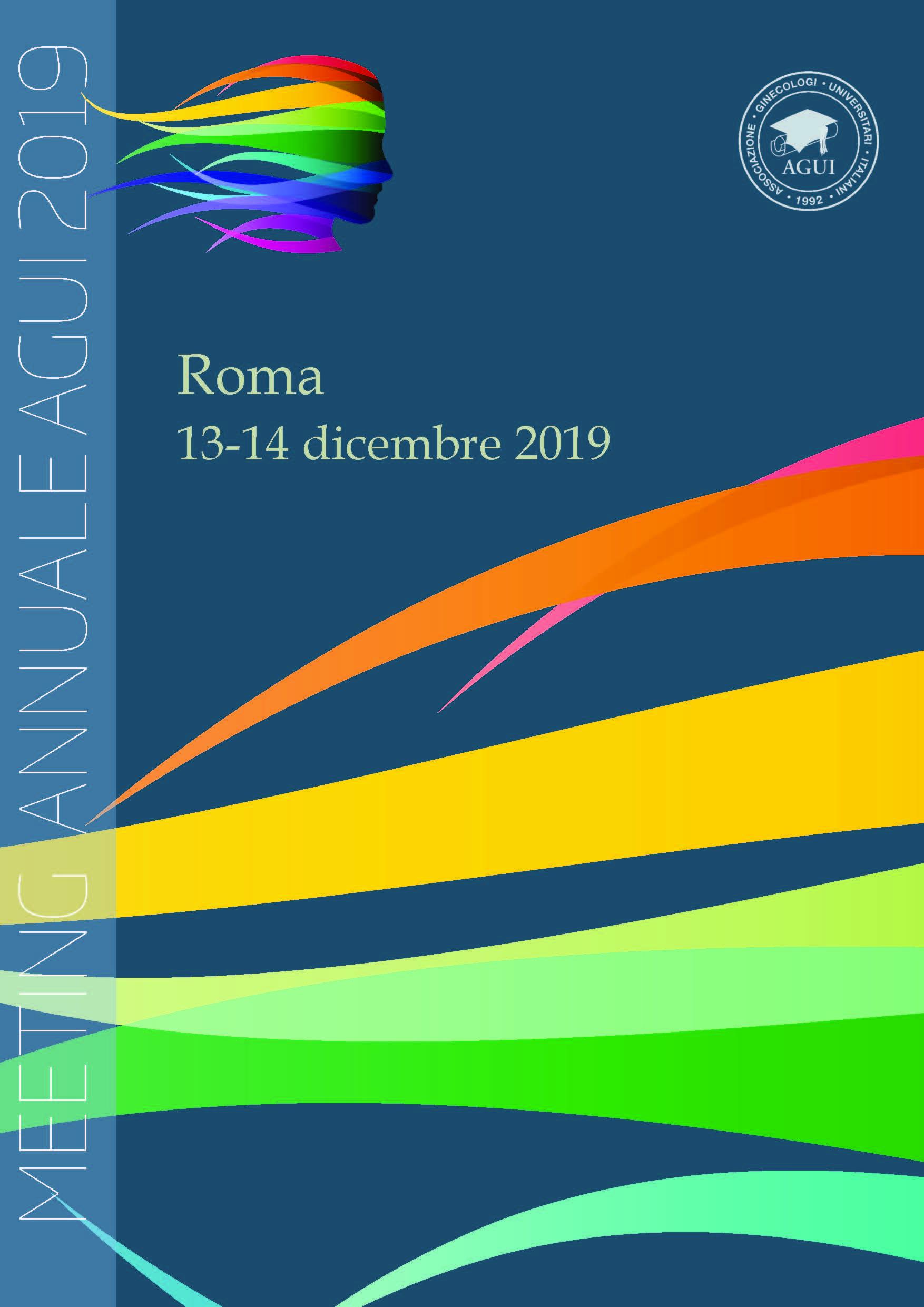 Locandina AGUI 2019