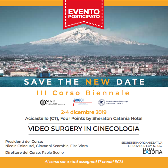 VIDEO SURGERY IN GINECOLOGIA